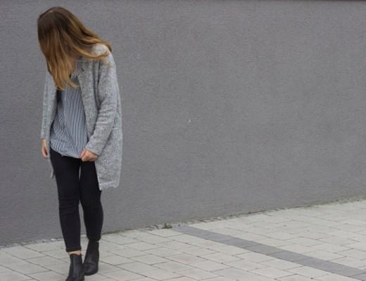 Outfit zara Bluse und Cardigan 1 - coeurdelisa
