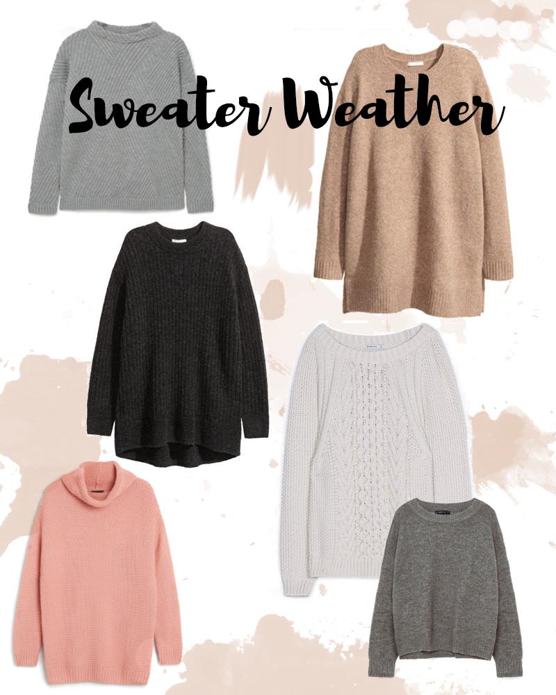 fashion picks sweater weather