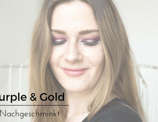Purple & Gold Nachgeschminkt Titel
