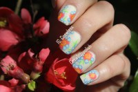 Nail art May  May Flowers (Inspired by Wondrouslypolished ...