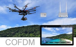 cofdm wireless video transmitter receiver UAV