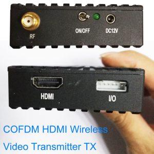 HDMI COFDM Wireless Image Video Transmission transmitter Transceiver