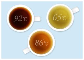 スペシャルTは最適な温度と蒸らし時間が自動