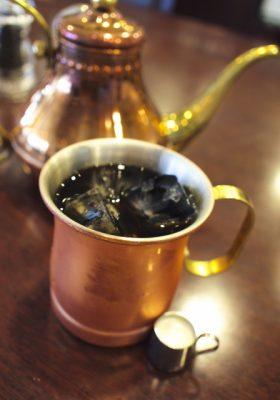 アイスコーヒー用のコーヒーカップ