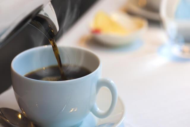 コーヒーカップの大きさや形