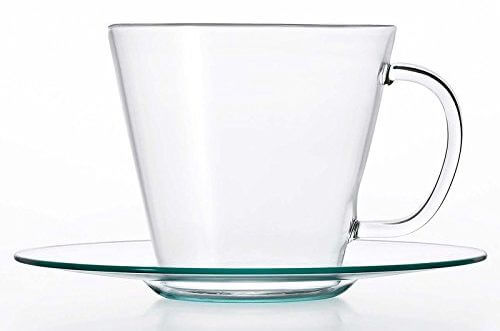 耐熱ガラス カップ & ソーサ― LAVIA ストレート アデリア