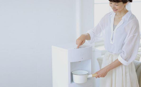 冷水だけでなく熱湯・常温水どちらも出る