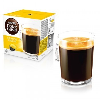 Kavos kapsulės 16 vnt. Nescafe Dolce Gusto GRANDE Nr.44
