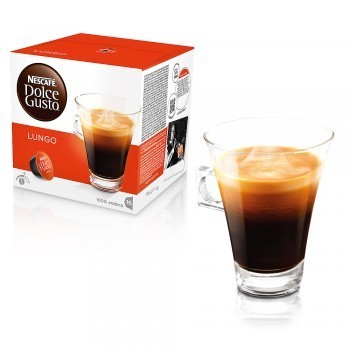 Kavos kapsulės 16 vnt. Nescafe Dolce Gusto LUNGO Nr.40