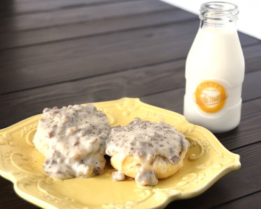 Homemade Biscuits and Gravy