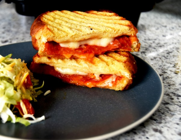 Pepperoni Pizza Paninis