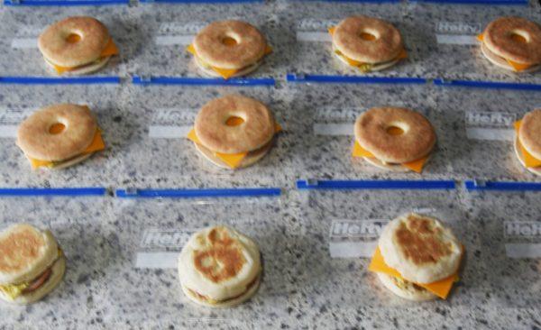 Breakfast Prep Sandwiches