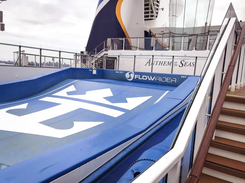 Anthem of the Seas Flow Rider