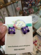 Handcrafted from polymer clay! You can learn this @ The Crafters Marketplace!