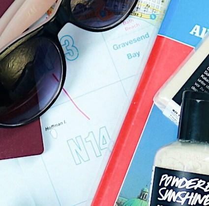 I love summer Part 2: Travel-Essentials for hand luggage