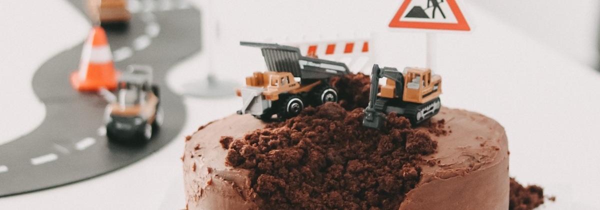 """Rezept für eine """"Baustellen-Torte"""""""