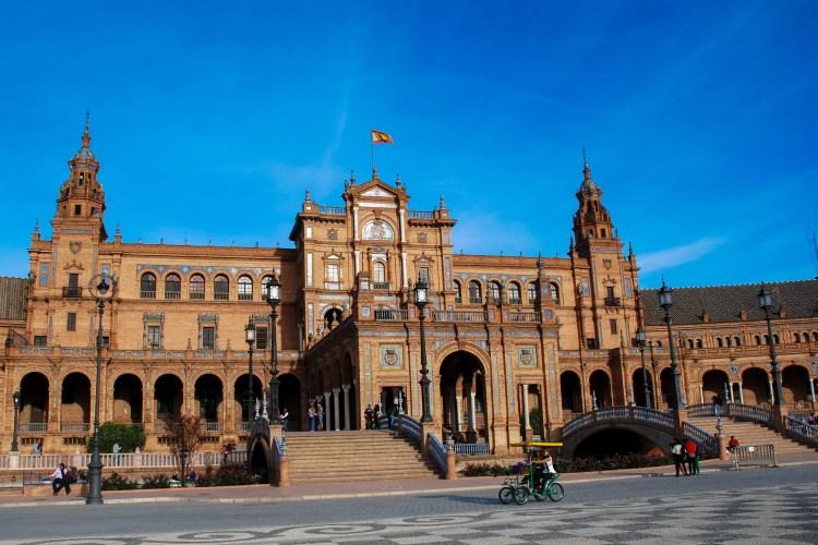 The classic Plaza España, Sevilla