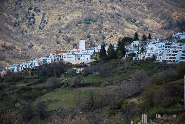 A typical Andalusian white-whashed mountain village.