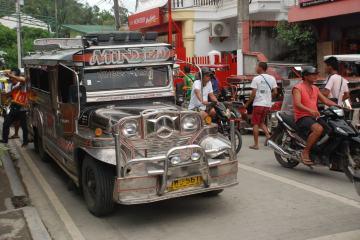 Jeepney ride, Mindoro, Philippines