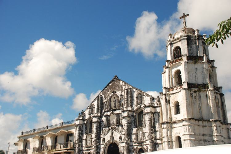 Daraga Spanish Baroque Church near Legazpi