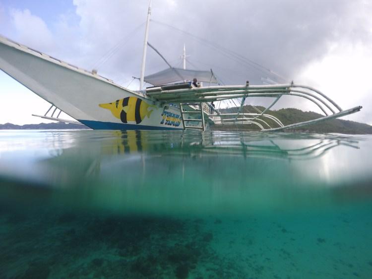 Snorkelling bangka