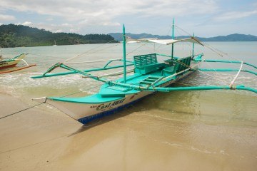 Castaway bangka Port Barton, Palawan, Philippines