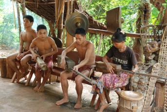 Indigenous tribe, Palawan Island, Philippines