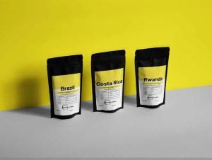 coffee pouch design
