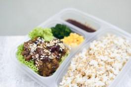 QQ RIce - Peranakan Herb Chicken Bento