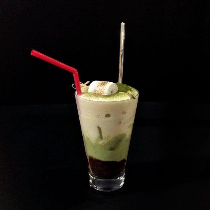 Kogane Yama — Azuki Matcha Latte