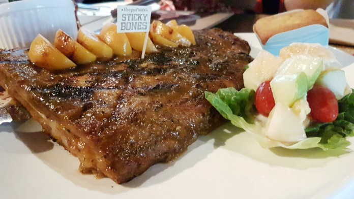 Morganfield's—Candied Peach BBQ Sticky Bones