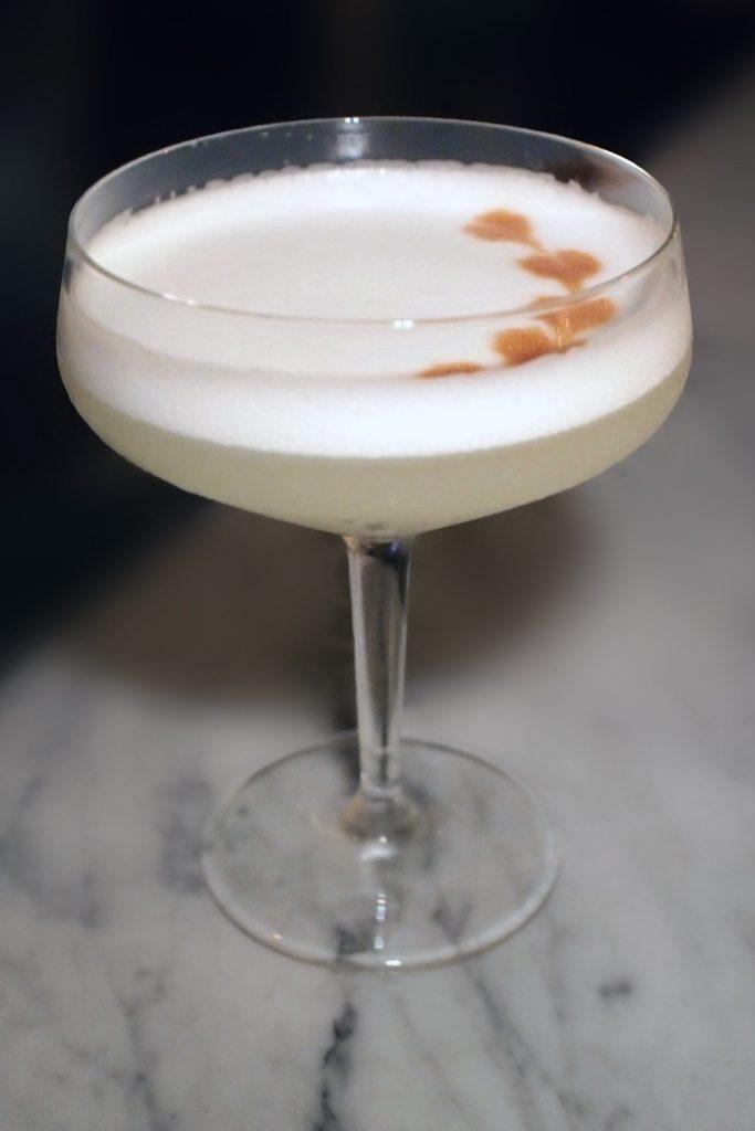 Bochinche — Pear Pisco Sour