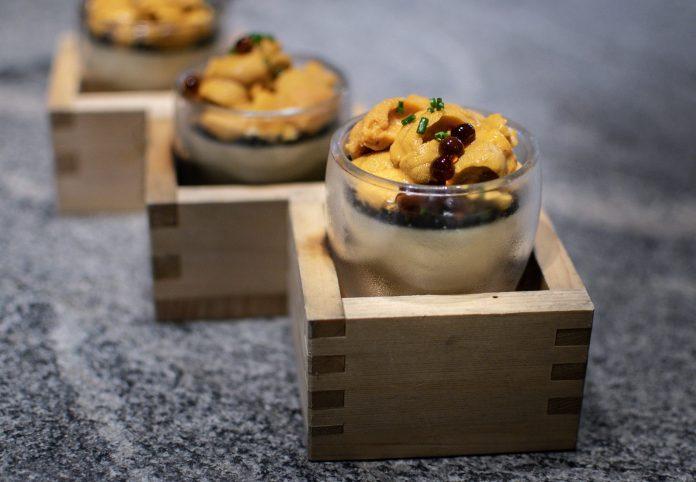 Le Binchotan — Uni and Caviar