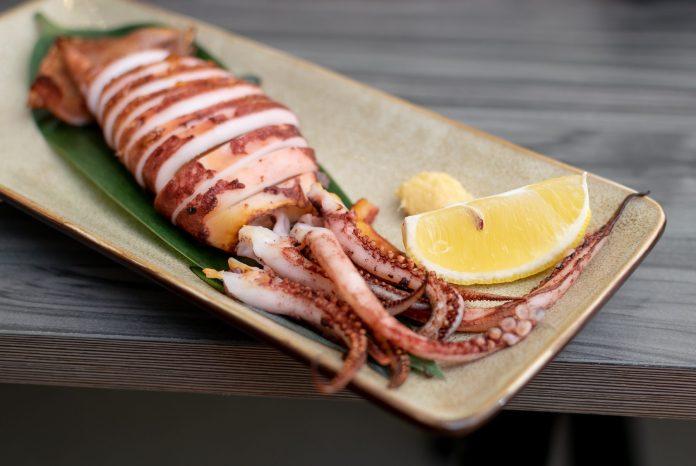 En Sushi—Ika Yaki