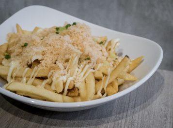Grub-Truffle Floss Fries