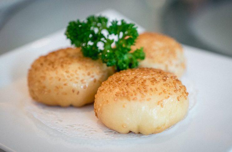 Yan-Singapore National Day-Pan-fried Singapore Chilii Crab Meat Bun