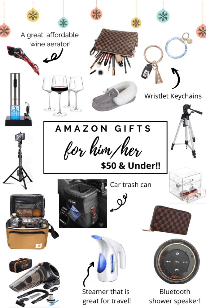 Amazon Gift Ideas For Him Her 50 Under Coffee And Denim