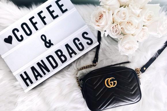 Gucci Marmont Mini Camera Bag Review | CoffeeAndHandbags.com