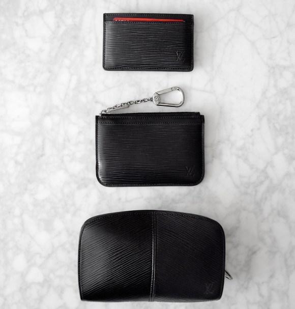 Louis Vuitton Epi Leather Collection | Simple Card Case / Pochette Cles Key Pouch / Demi-Lune Wallet | CoffeeAndHandbags.com