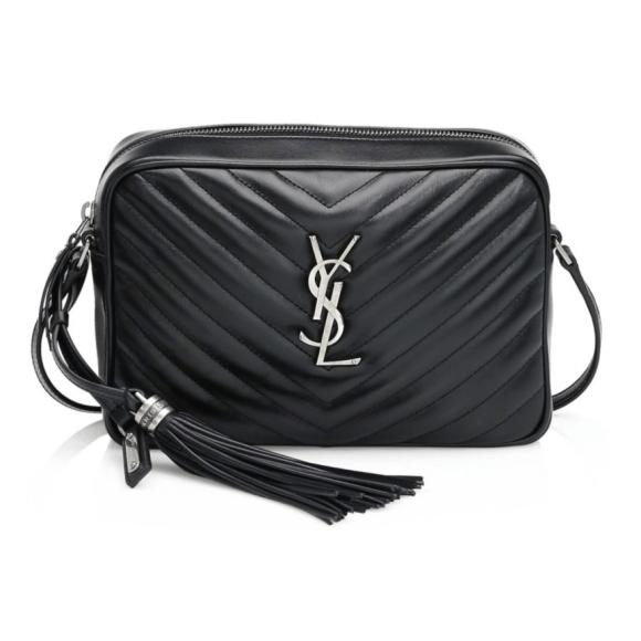 Saint Laurent Women's Lou Matelassé Quilted Leather Camera Bag