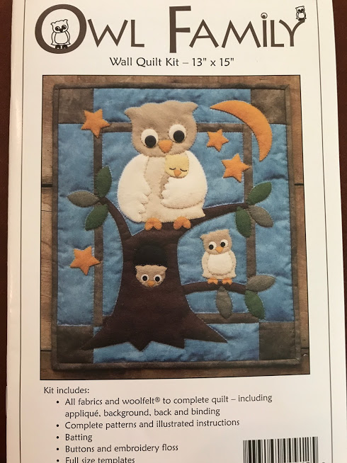 Owl Family Wallhanging
