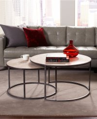 Irresistible Oval Shaped Coffee Tables With A Unique Design