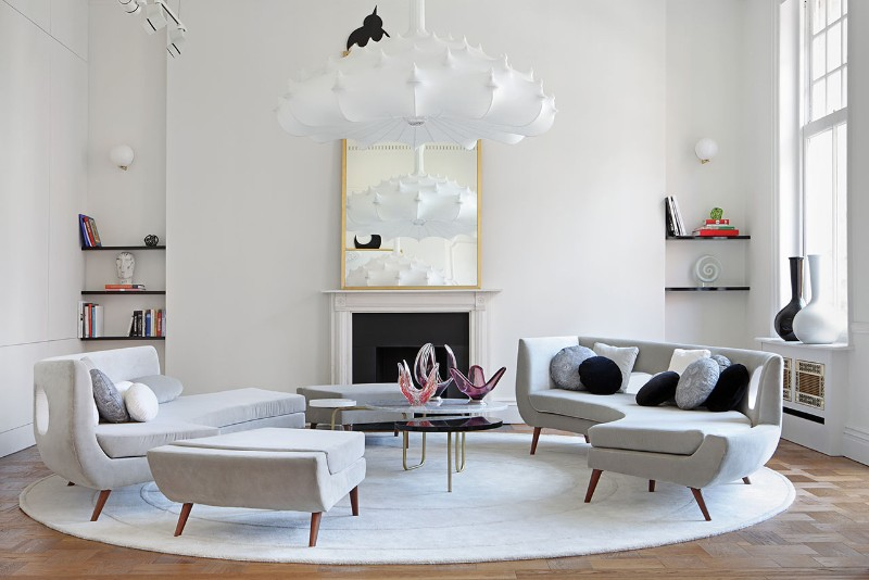 luxury living room display corner units for black and white decor ideas a
