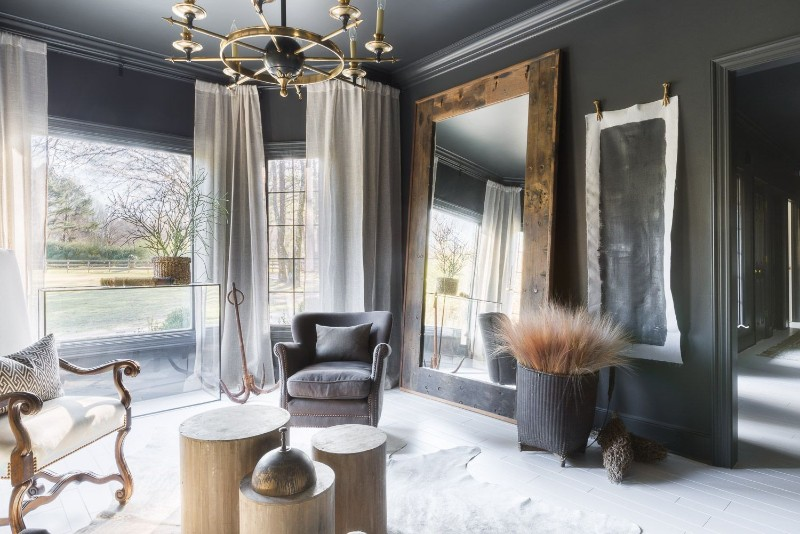 Black And White Decor Ideas For A Luxury Living Room