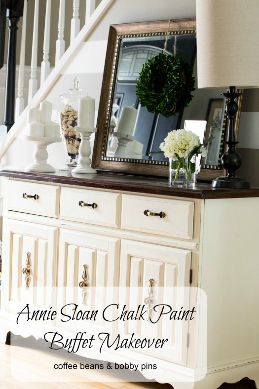 Annie Sloan Chalk Paint Buffet Makeover By Lifestyle Blogger Amy Of Coffee Beans And Bobby