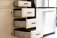 Lining Kitchen Drawers | Coffee Beans and Bobby Pins