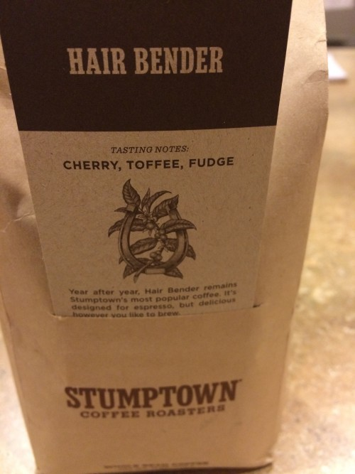 Review: Stumptown Hair Bender espresso (Portland, Oregon)