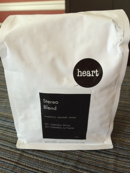 Review: Heart Coffee Roasters Stereo Blend (Portland, Oregon)