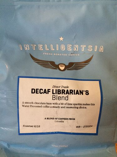 Mini review: Intelligentsia Decaf Librarian's Blend (Chicago, Illinois)