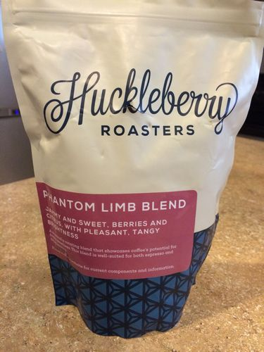 Review: Huckleberry Roasters Phantom Limb Blend (Denver, Colorado)